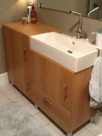 IKEA Bathroom Vanities and Sinks | Materials: Lillangen ...