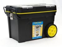 Tool box with wheels and pull out handle | Mobile Tool ...