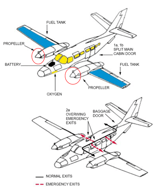 bush plane diagram