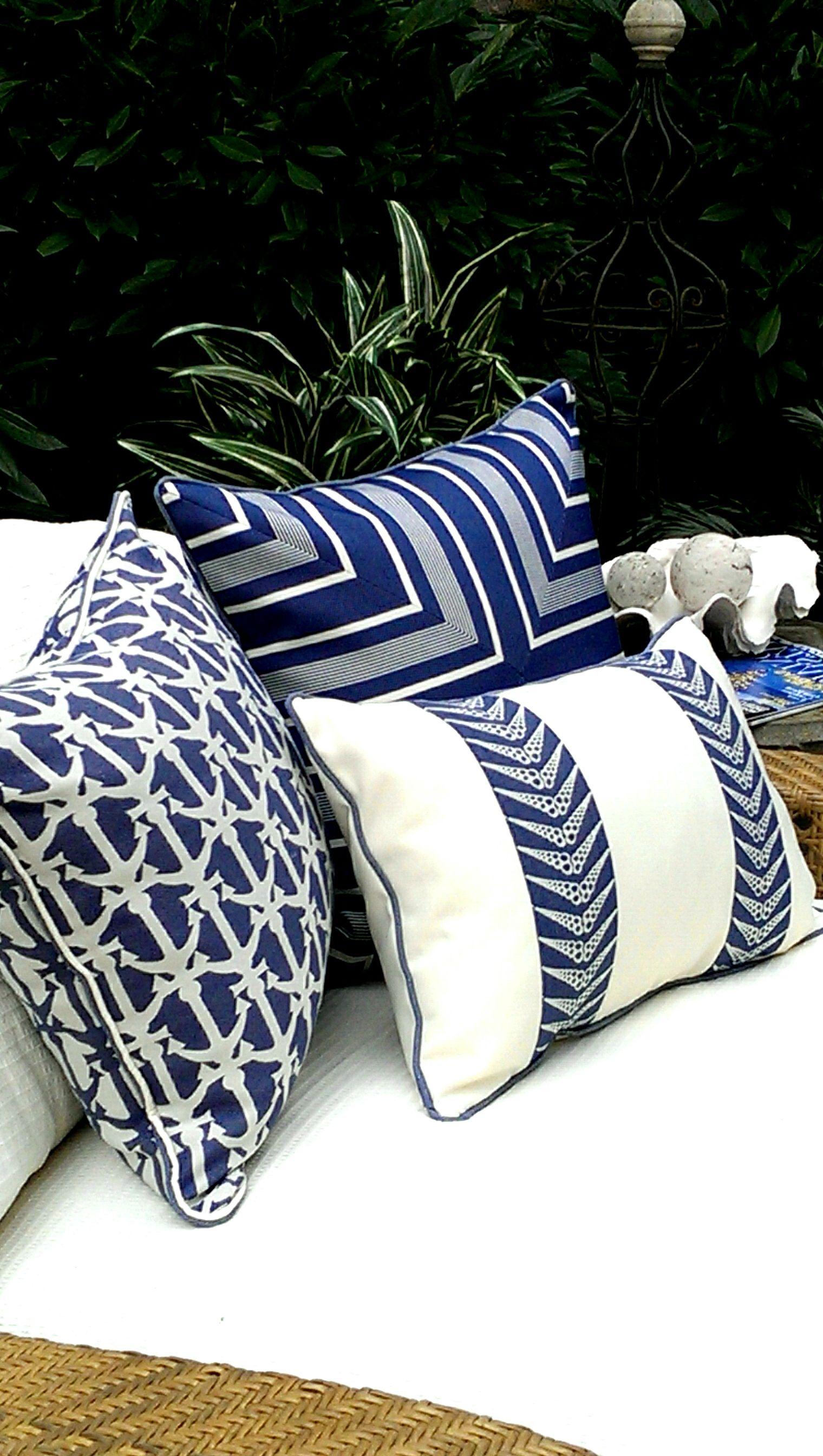 Karen Robertson Royalty Collection Outdoor Pillows