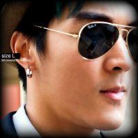 Large Hoop Earrings For Men Custom Gauged by ...