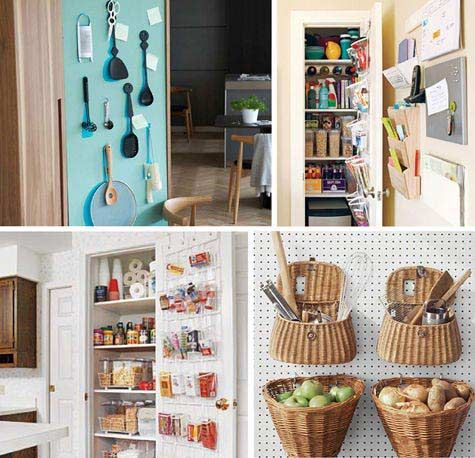 How to Make a Small Kitchen look Spacious \ Bigger Kitchens - kitchen storage ideas for small spaces