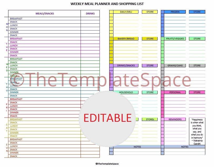 Grocery Template Printable menu checklist template - 28 images - editable checklist template