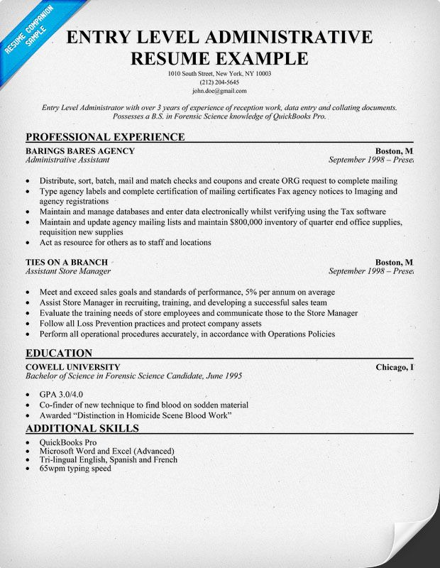Executive Assistant Resume Examples Administrative Assistant - examples of office assistant resumes
