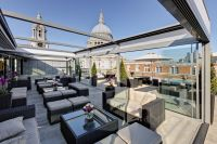 The gorgeous rooftop terrace at the fabulous Merchant ...