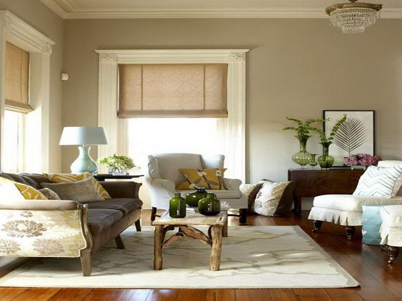 Rustic Living Room Color Schemes Inside Pinterest Neutral - best neutral paint colors for living room