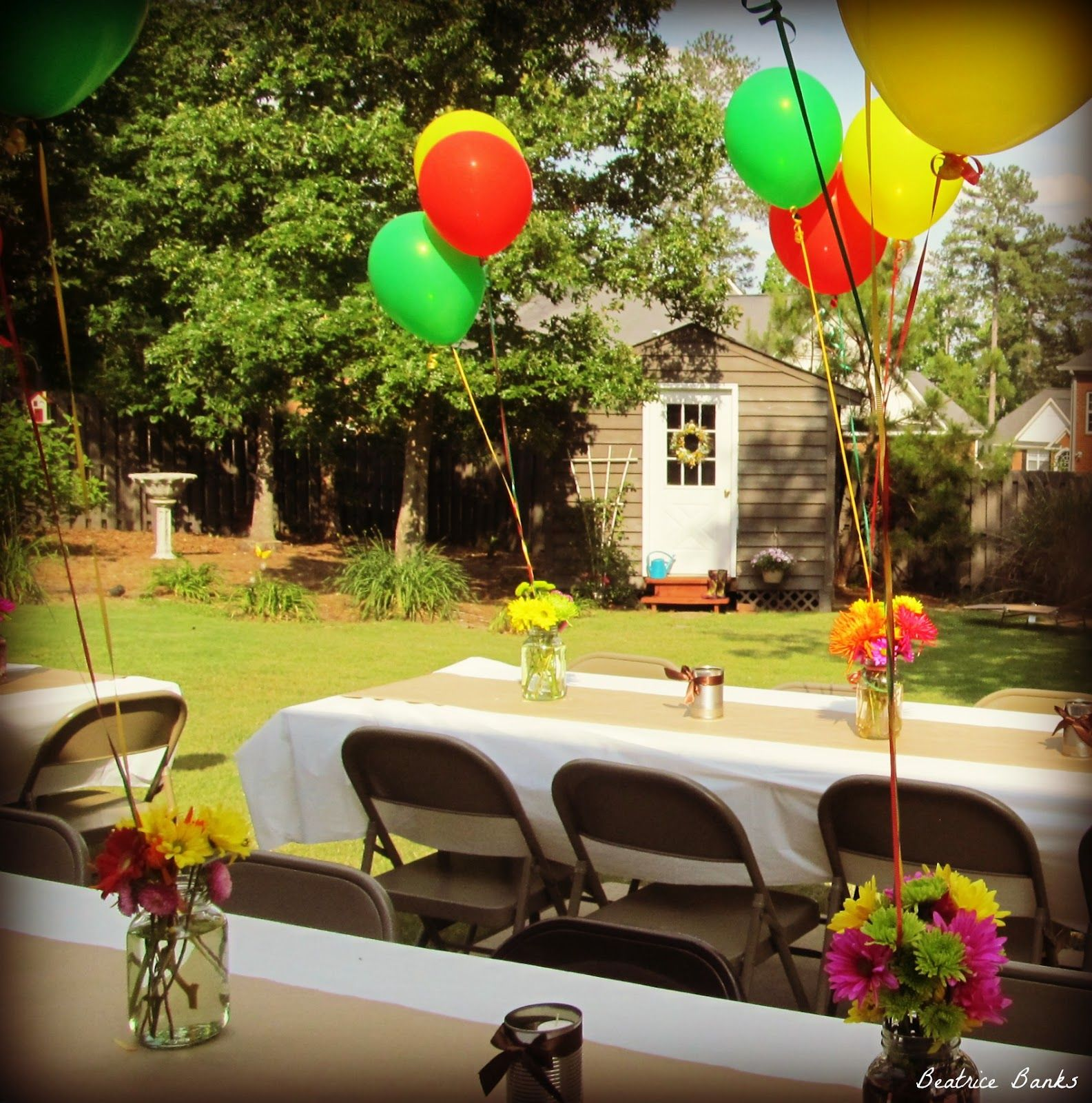 Rustic Decorating Ideas Graduation Backyard Graduation Party Beatrice Banks Party Ideas