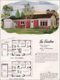 Mid Century Modern House Plans | National Plan Service ...
