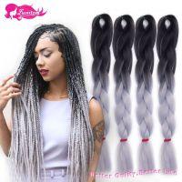 Aliexpress.com : Buy Ombre Kanekalon Braiding Hair