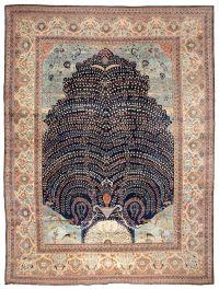 Tabriz Rug | Antique Tabriz Carpet | Persian Rugs | 44869 ...