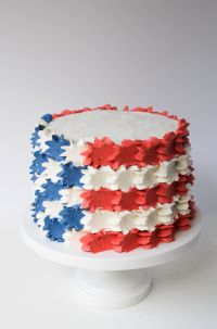 Stars And Stripes Buttercream 4th Of July Cake |Erin Bakes ...