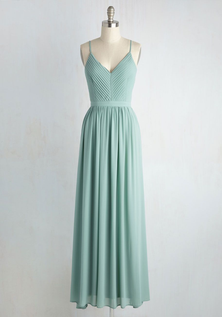 wedding guest maxi dress Bridesmaid for Each Other Dress Stylish DressesFabulous DressesSage Green DressGreen MaxiWedding Guest