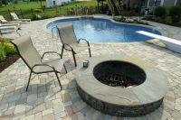 paver and concrete around pool | pool patio 1024x682 Set ...