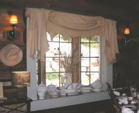 Rustic Adornments - Rustic Window Treatments | Decorations ...