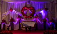 Indian Wedding Reception Decorations | valentine theme ...