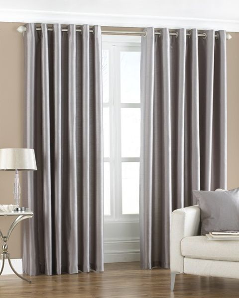 Emporio Armani Classic Watch Silver curtains, Living rooms and Room - balloon curtains for living room