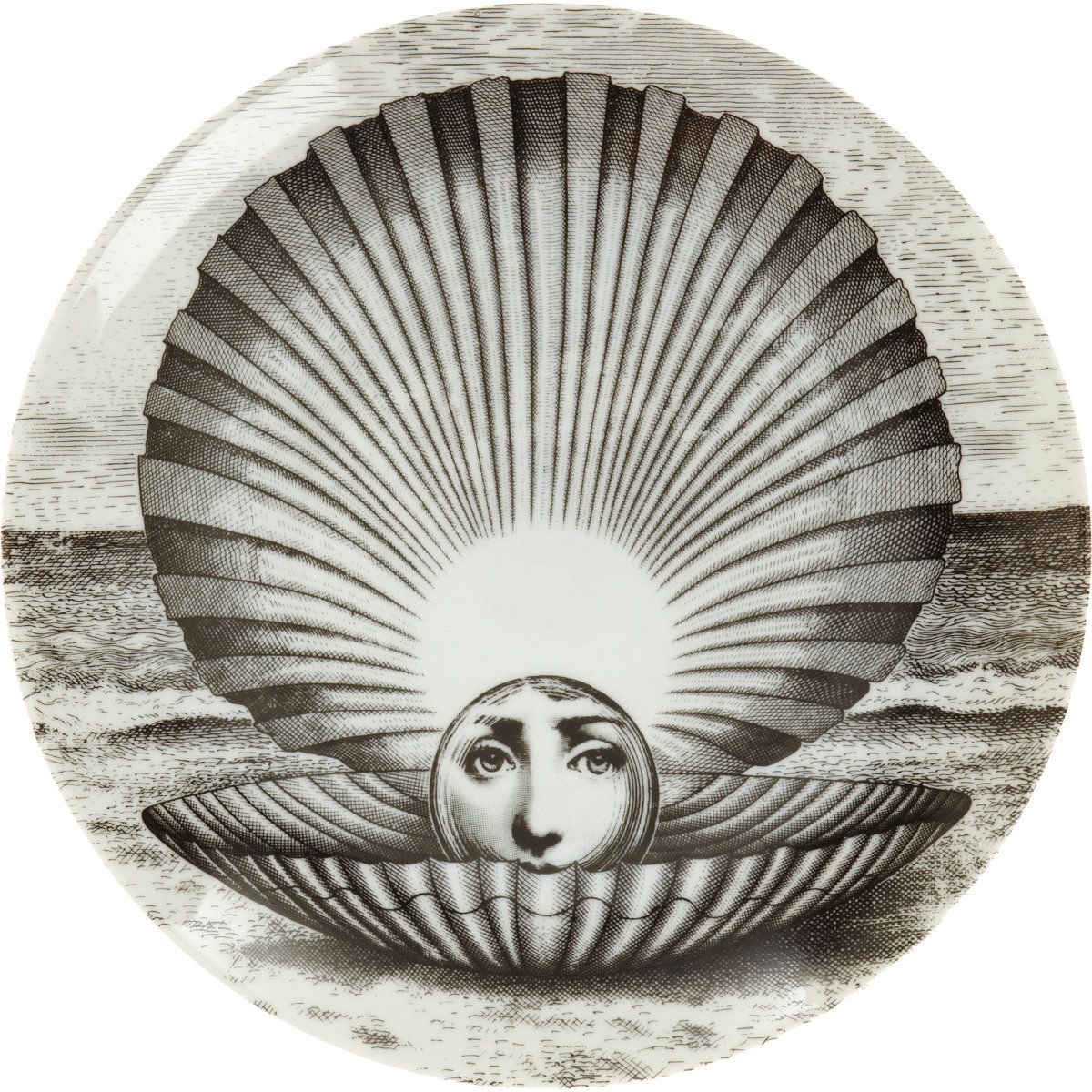 Fornasetti Theme And Variation Plate No 274 By Piero Fornasetti
