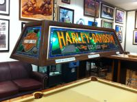 Harley Davidson pool table light! We want this!   Harley ...