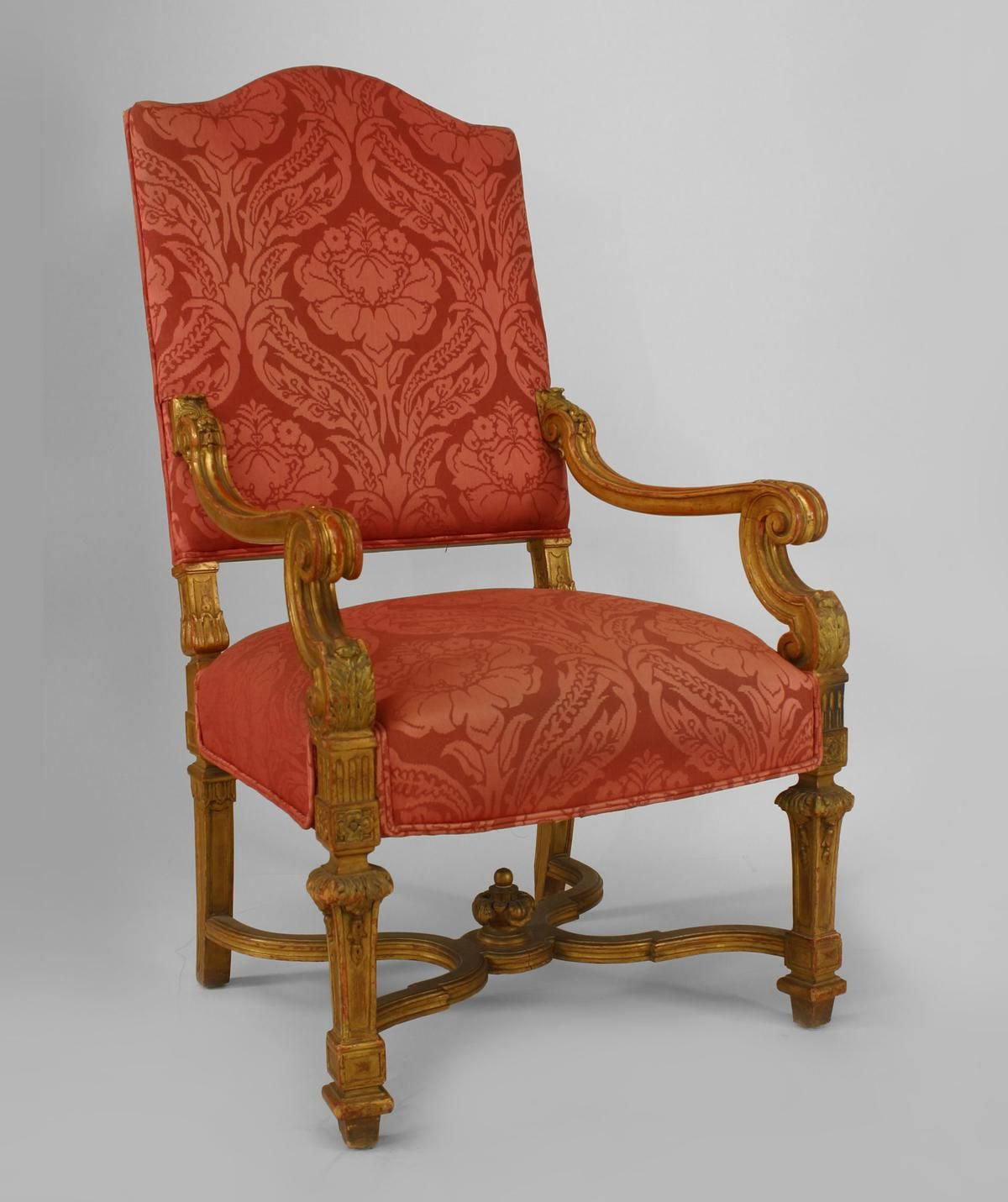 Louis The 14th Furniture French Louis Xiv Seating Chair Set Gilt Louis Xiv