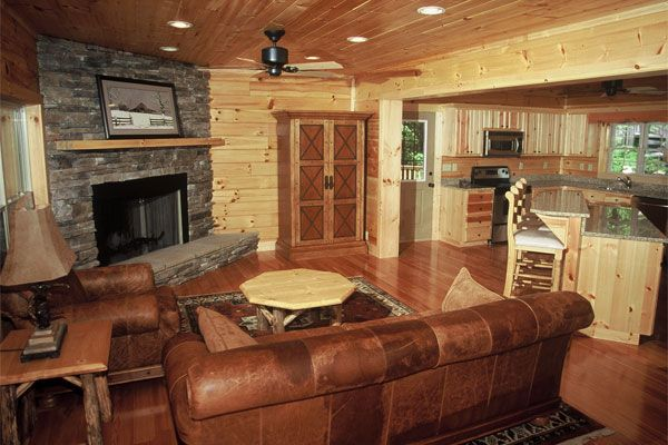 Small Log Cabins Interiors log cabin highlands series 12 Log - log home decorating ideas
