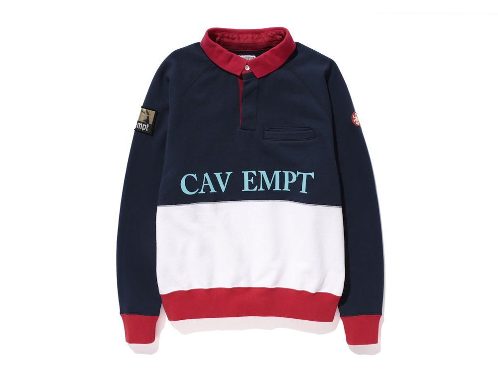 Cav Empt Cav Ual Collared Sweatshirt Clothing - Cav Empt