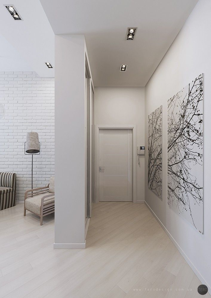 Artistic Wall Painting In The Hall With Grey Wall Painting And - artistic wall design
