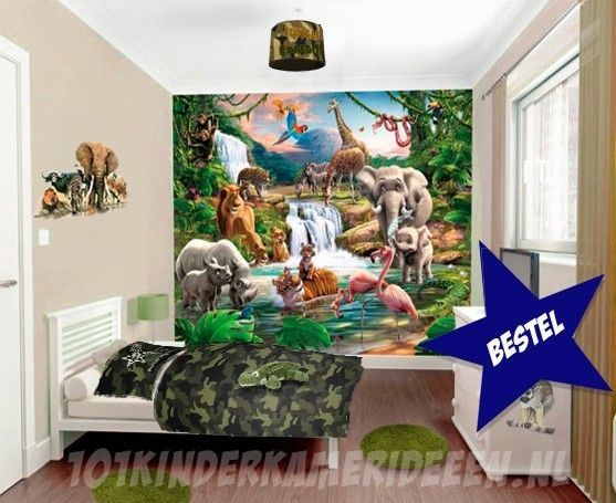 Kinderlampen Ikea Jungle Kamer Idee | 101 Kinderkamer Ideeën & Decoratie