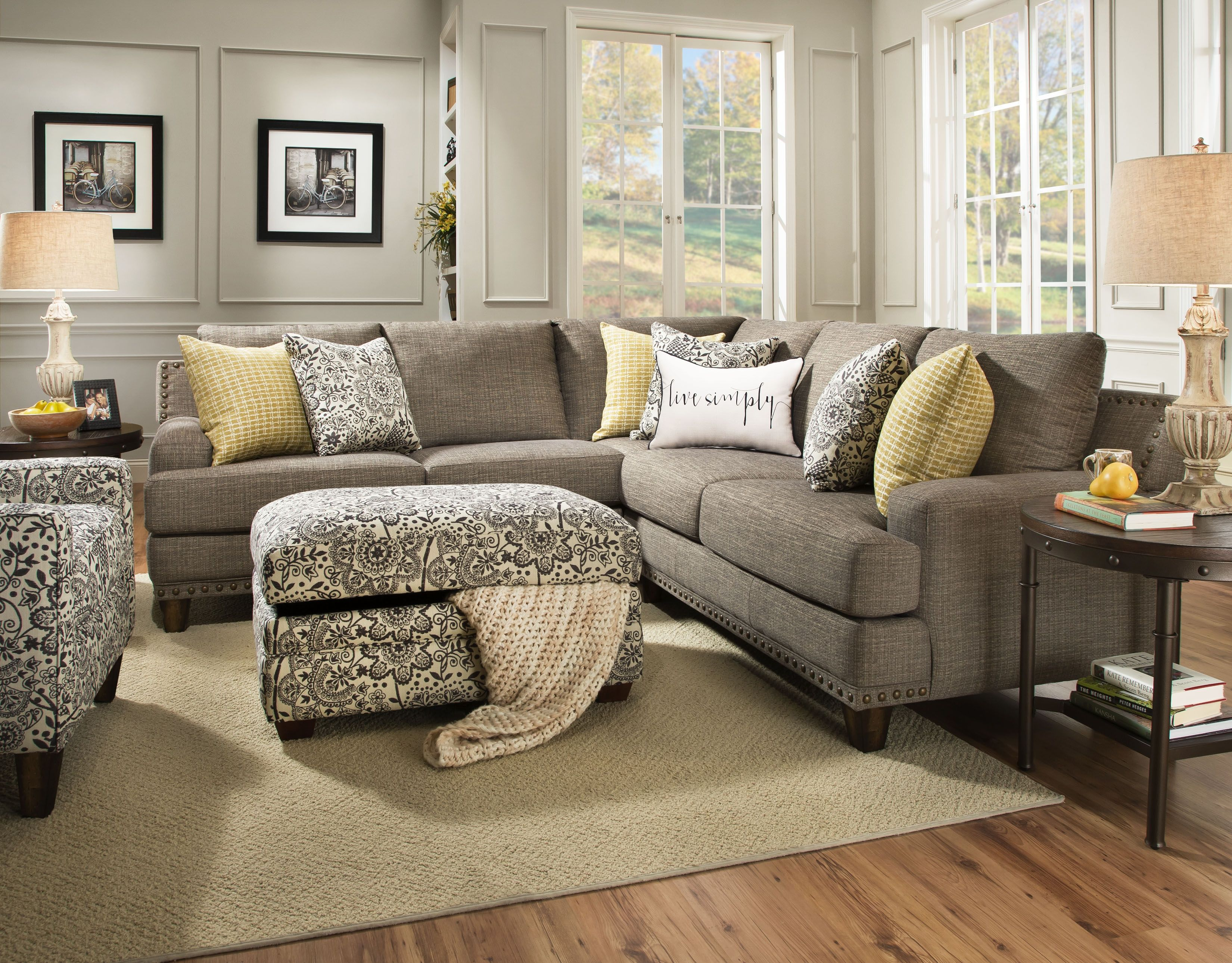 franklin sectional sofa franklin 572 sectional sofa in chocolate you