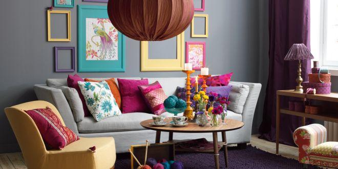 wandgestaltung wohnzimmer grau lila. wohnzimmer wandgestaltung ... - Wohnzimmer Grau Magenta