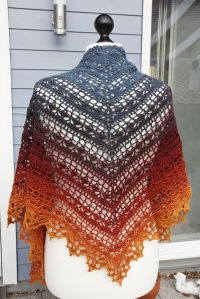 Bruinen Shawl By Jasmin Rsnen - Free Crochet Pattern ...