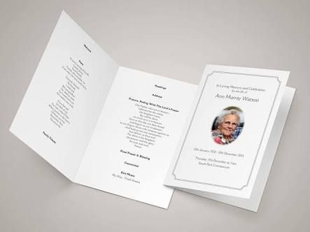 Image result for funeral templates for catholic mass The End - funeral templates