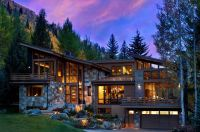 Captivating modern-rustic home in the Colorado mountains ...