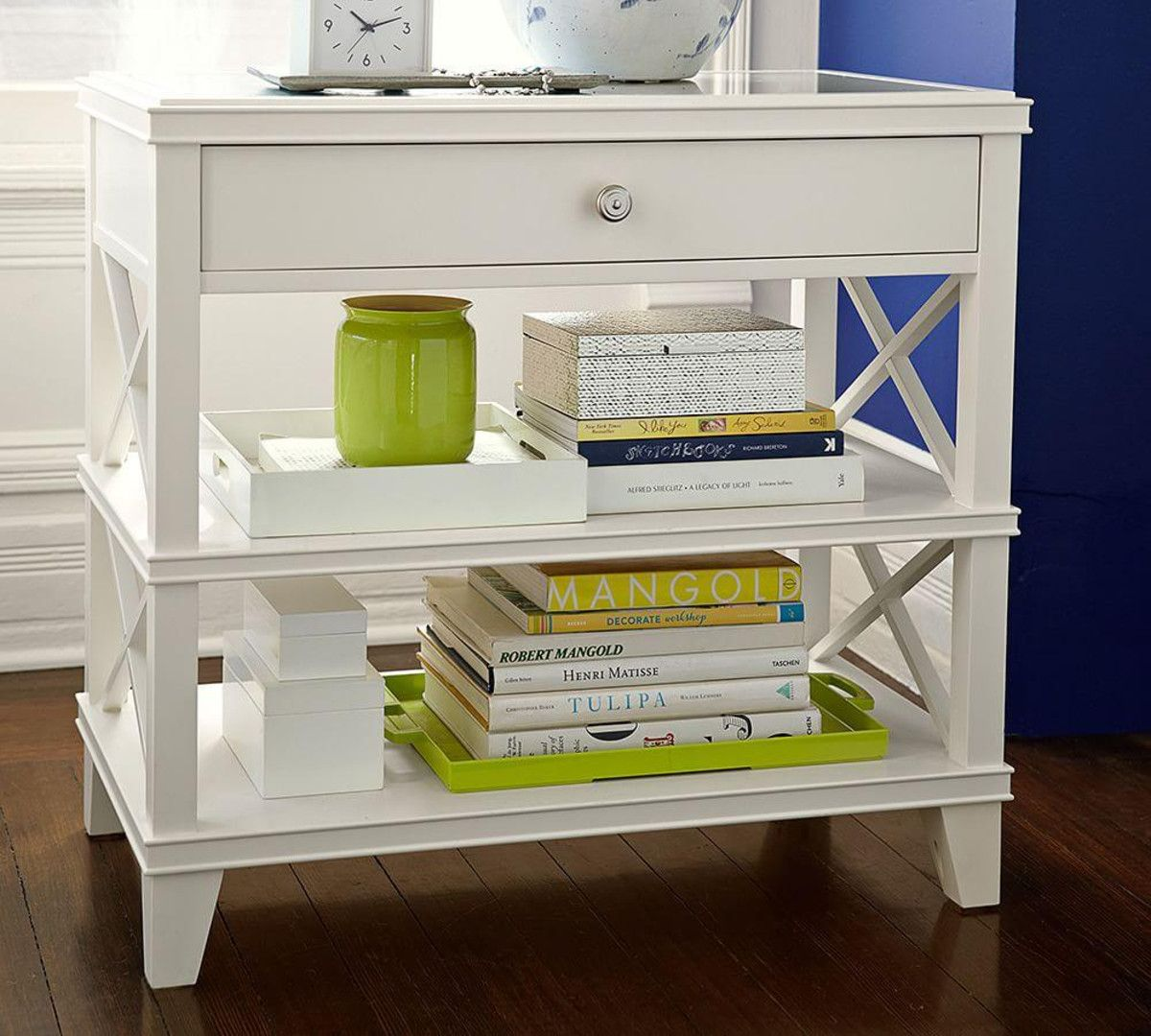 Pottery Barn Farmhouse Extra Wide Dresser Apartment Guest Room Aliza Room Bedside Table Clara