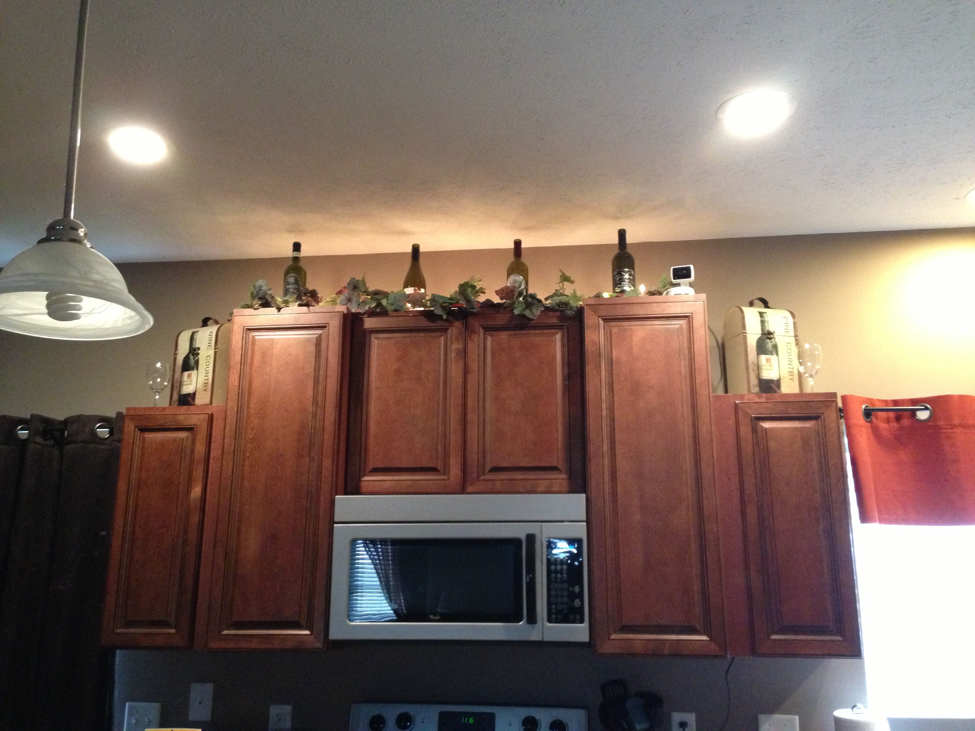 Kitchen Wine Cabinet Wine Bottle Kitchen Cabinet Decorations Home Decor Ideas