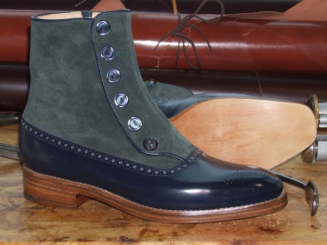 bespoke spat boot maker in england