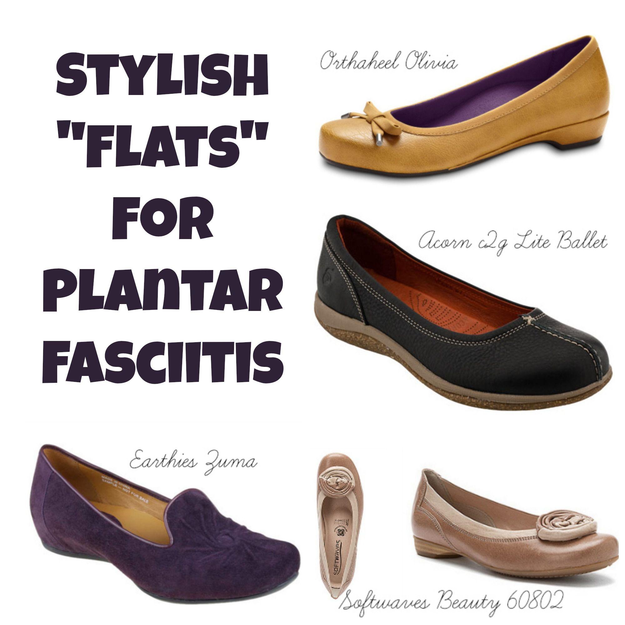 5 stylish flats for plantar fasciitis