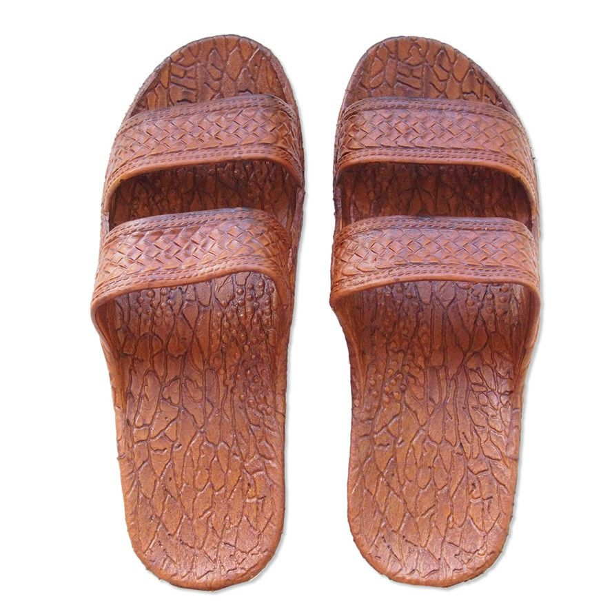 Get your jesus sandals aka classic brown pali hawaii sandals oflop com