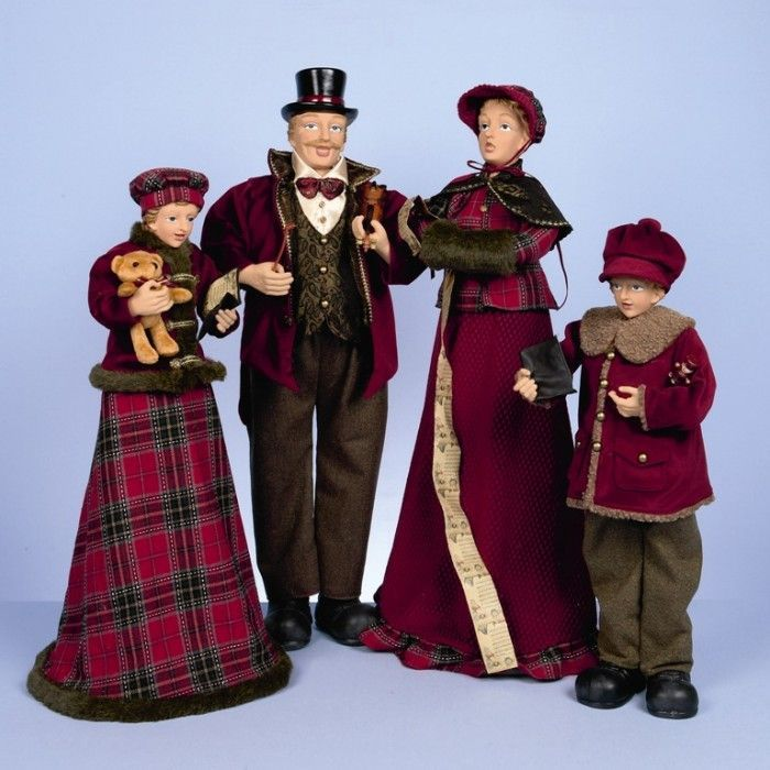 victorian christmas carolers figurines - Datastash - christmas carolers decorations