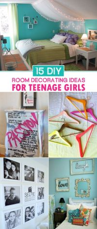15 DIY Room Decorating Ideas For Teenage Girls | Princess ...
