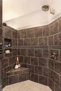 Greatest #Shower Ever! Walk-in shower with no door, 2 ...