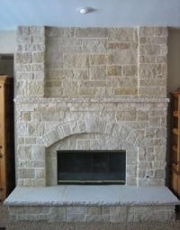 Fireplace Refacing on Pinterest | Gas Fireplace Inserts ...