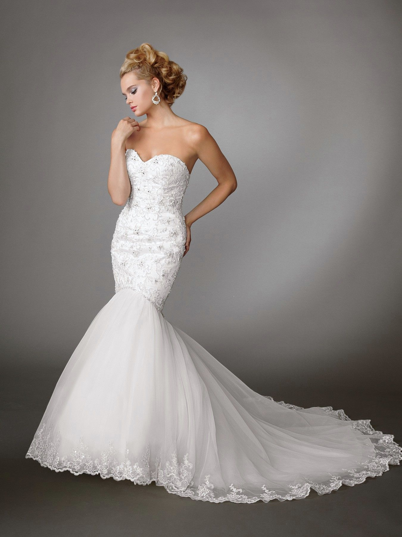 mermaid dress wedding Jordan Wedding Dresses Style M wedding dresses