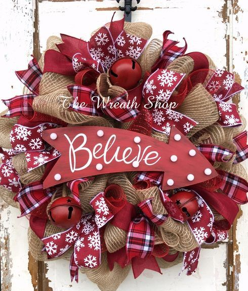 Christmas wreath Ideas for new season Wreaths, What s and Lights - christmas wreath decorations
