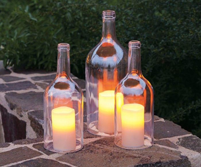 Wunderschöne und romantische Deko für den Garten selber machen - tolle ideen fur den garten