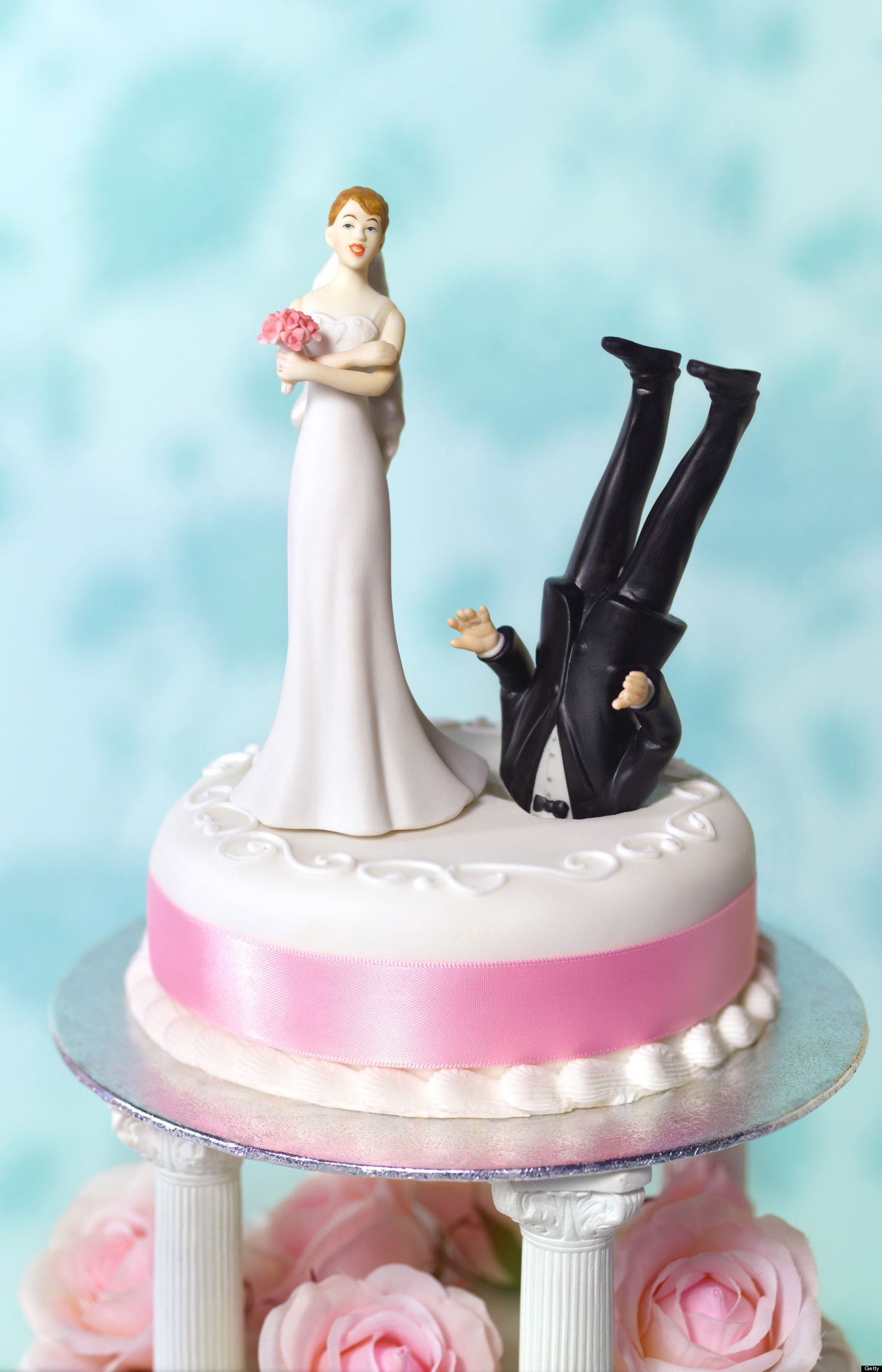 wedding cake topper Funny Divorce What Huffpost Divorce Readers Wedding Cake Toppers Should Have Depicted