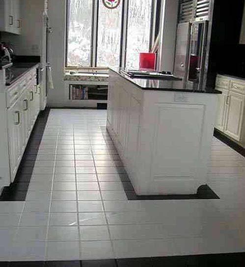 Kitchen Tile Flooring Kitchen Floor Tile Designs Ideas » white - kitchen floor tiles ideas