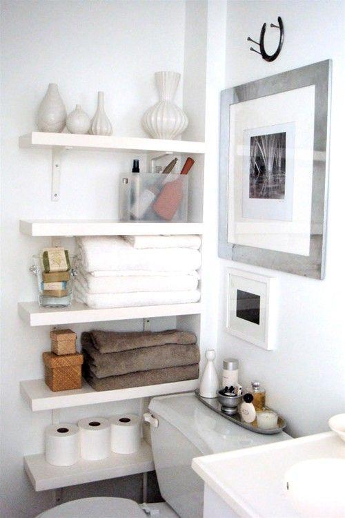 6 Tips When Decorating Small Spaces Small bathroom organization - bathroom decorating ideas diy