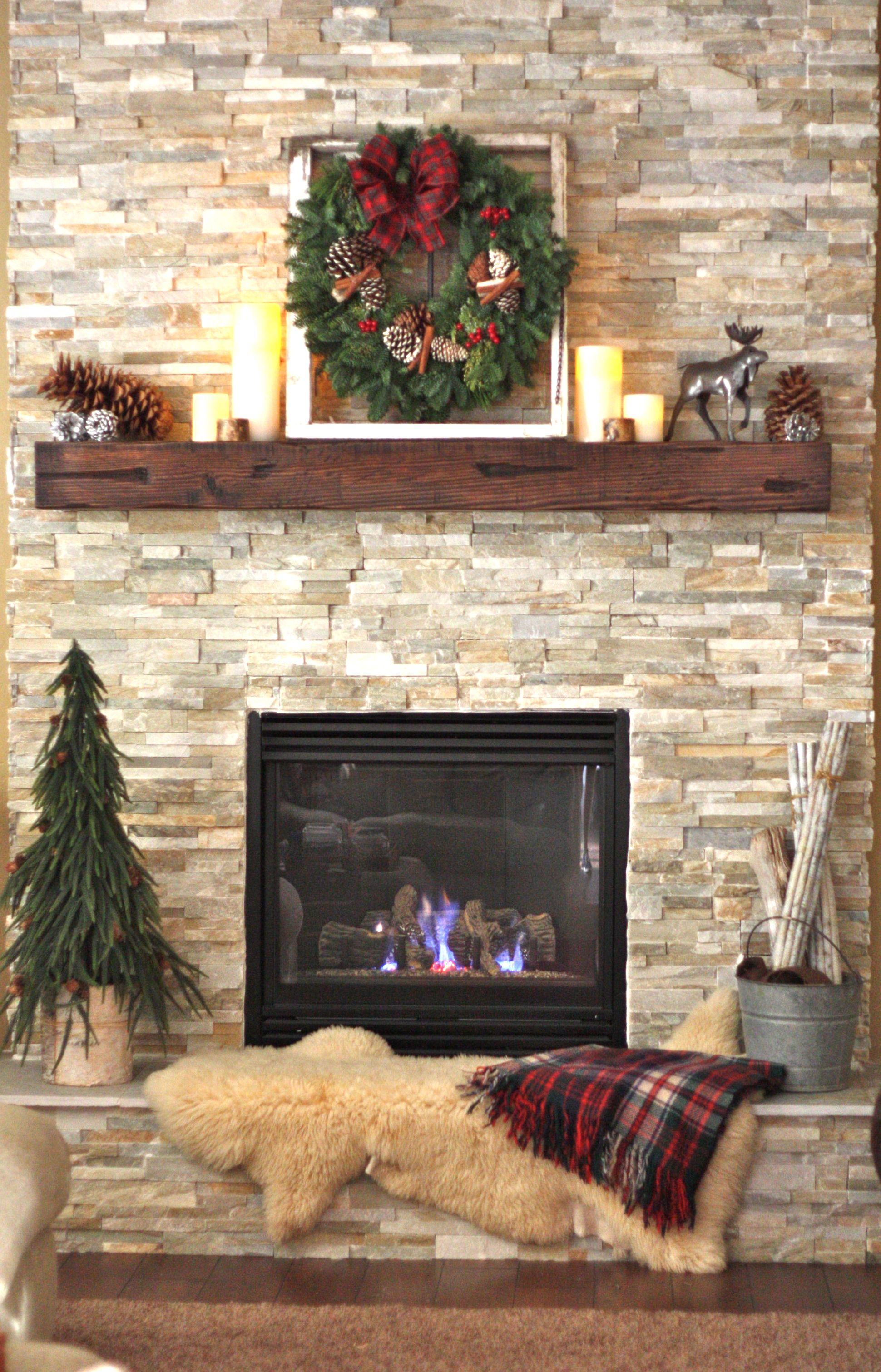 How To Decorate Fireplace Wall I 39d Like To Have A Mantle Installed On My Brick Fireplace