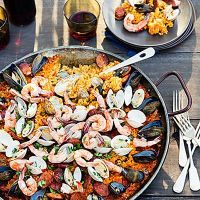 9 great grilling parties | Gardens, Paella and Outdoor parties