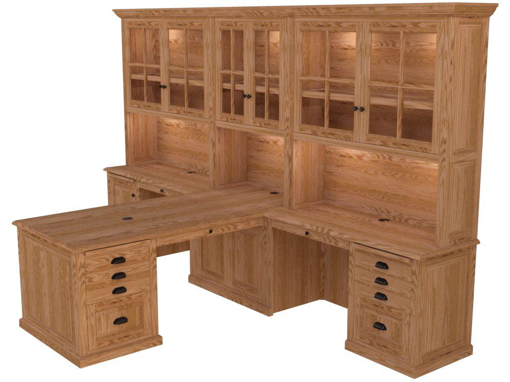 Partner desk home office furniture woodley furniture longmont co imageseditor